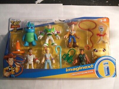 FISHER PRICE IMAGINEXT DC COMICS TOY STORY 4 ( DELUXE FIGURES PACK )