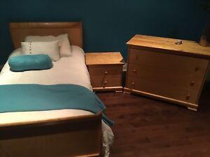 Meuble de chambre + matelas