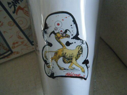FLYING DOG 16 OZ PINT BEER GLASS BLOODLINE BLOOD ORANGE IPA RALPH STEADMAN ART