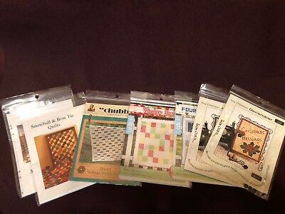 Quilt Patterns U Choose Bow Tie Checkered Window Seat 4 Patch Fun June Christmas Bow Tie Quilt Pattern