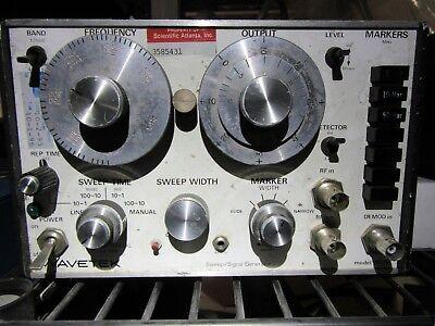 Wavetek 1801b Sweepsignal Generator 950mhz H2.1
