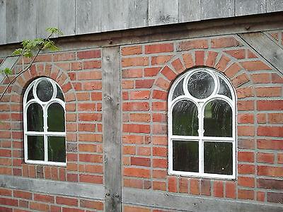 Tolles Gussfenster, Stallfenster mit Bogen, Kirchenfenster, Eisenfenster, !!!