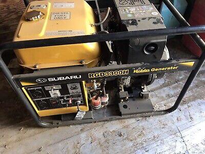 3300w Portable Diesel Power Generator