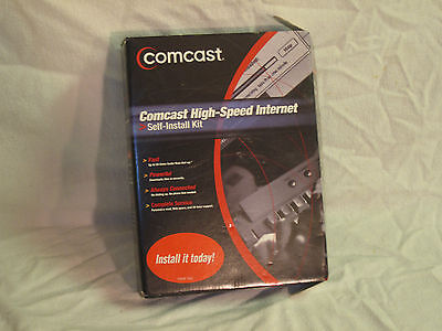 Used Comcast High Speed Internet Self Install Kit Model Hsik002
