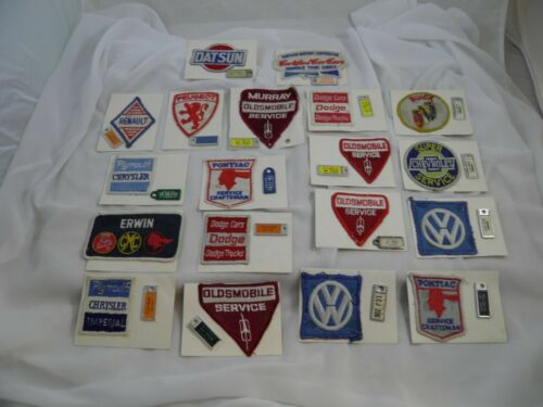 41Lot of 19 DAV Miniature License Plate