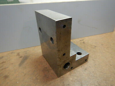 Older Machine Shop Made Angle Plate Jig Fixture Setup Lot Ae48i
