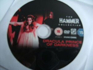 Dracula - Prince Of Darkness (DVD, 2006) Hammer. Christopher Lee. ' Disc Only '.