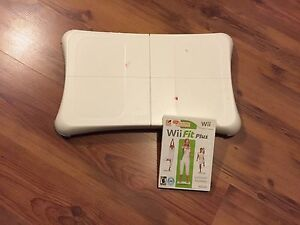 Wii Fit Exercise Program & Balance Board