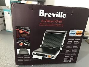 Brand new in the box Breville electric smart grill