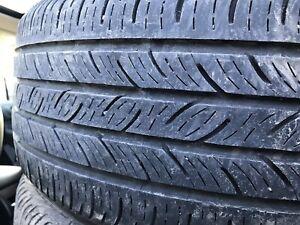 4 pneus d'été Continental 215/50/17
