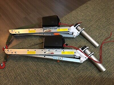 2 Spitzlift Fold - Down Kuv Cranes No Electric Cables Included 550 Each