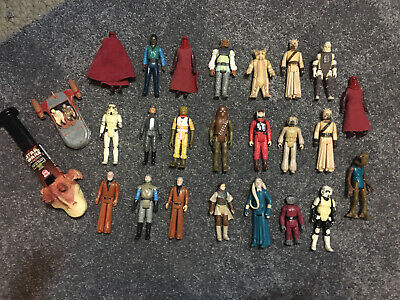 Star Wars Figures Bundle - Vintage - Original - Collectors - 1977 Onwards RARE
