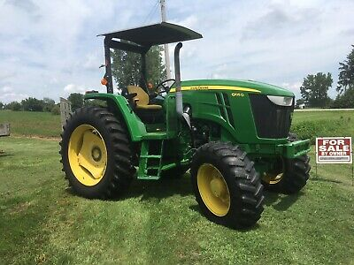 2014 John Deere 6105 D Tractor 105 Hp Low Hrs.