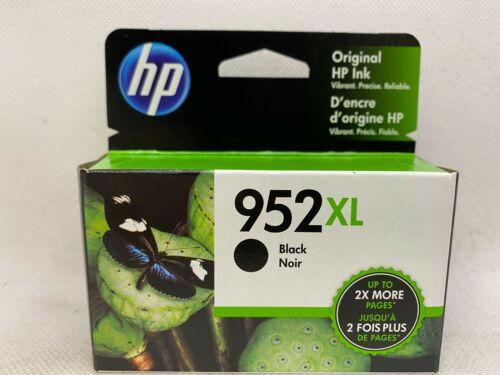 HP 952XL BLACK INK CARTRIDGE 12/2021 NEW