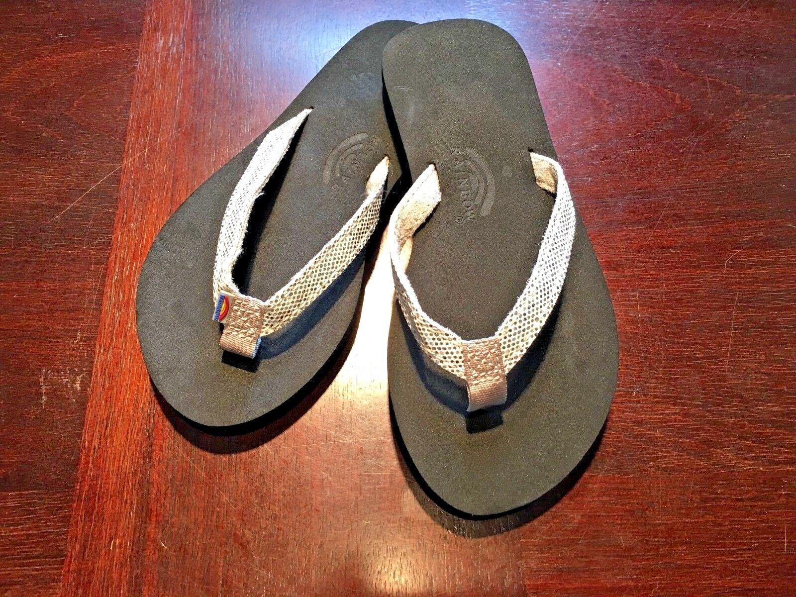 Kids Rainbow Sandals Sandiva Glitter Flip Flops Silver 11/12