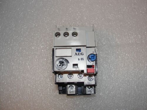 AEG b 05 IEC/EN 60947-5-1 Overload Relay
