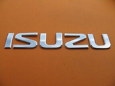 ISUZU BOX TRUCK PICK UP FRONT CHROME EMBLEM LOGO BADGE SIGN SYMBOL LETTERS A9167