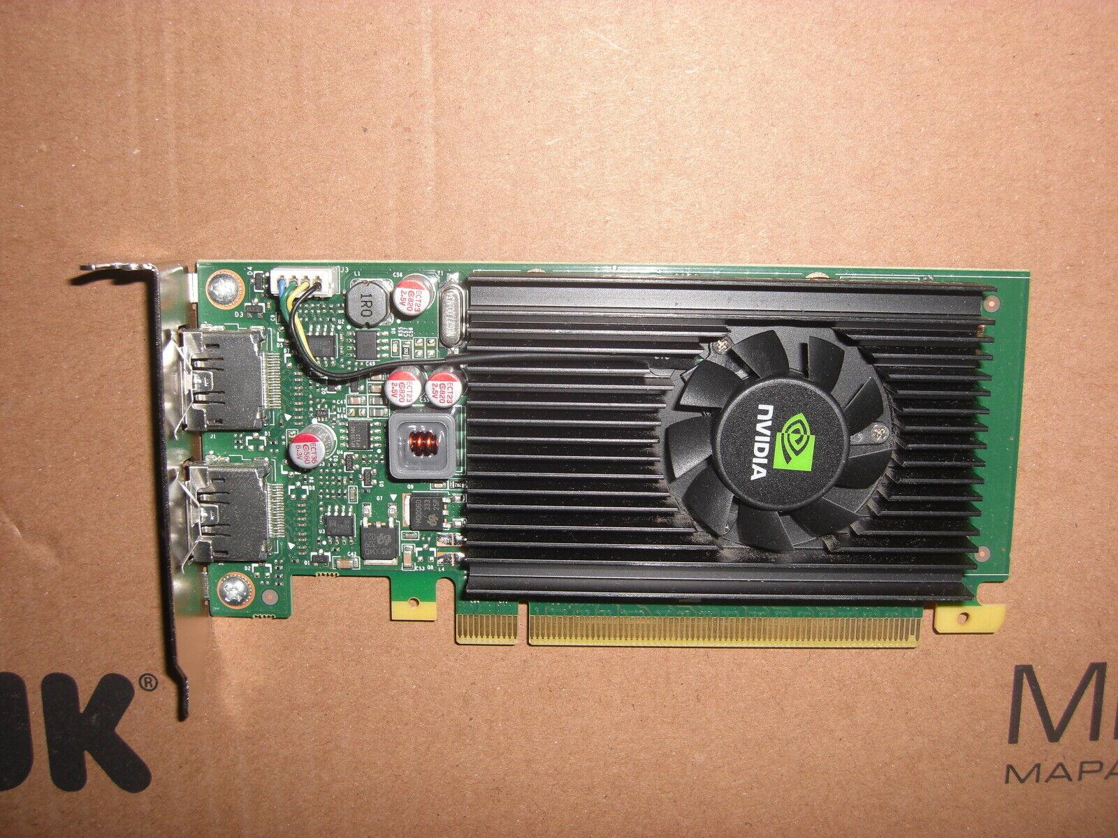 Nvidia Quadro NVS 295 PCIe Grafikkarte - 2x DisplayPort/DP - Low Profile