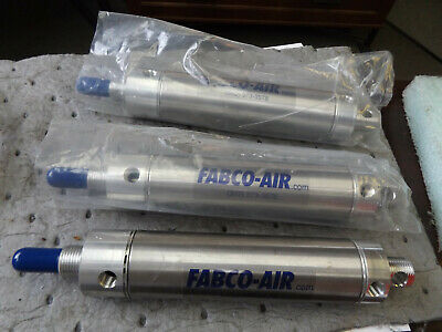 Wholesale Liquidation Fabco-air 5-dp-4m Cylinder Lot Of 3 New Old Stock