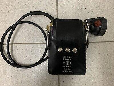 Kopflampe Handlampe THW.,ex Bund Grubenlampe ABB CEAG HLE 7 L