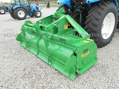 Rotary Tiller 8-6 Valentini Ar2500tractor 3ptpto Qh Compat Hd 130hp Gbox