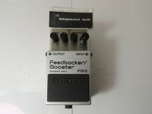 Boss FB-2 Feedbacker Booster Boost Effects Pedal Free USA Ship
