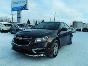 2015 Chevrolet Cruze 2LT LEATHER, SUNROOF, HEATED SEATS, AUTO...