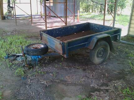 Box Trailer for sale, needs new floor. Litchfield Area Preview