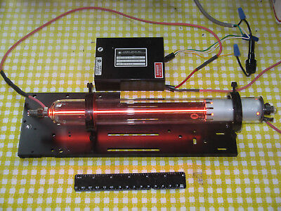 Melles Griot 6 Mw Red Hene Laser W Ps Adj. Mount Demo Education Research Modes