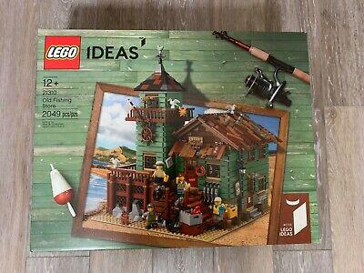 Lego - Ideas - Old Fishing Store - 21310 - 2049 pcs - Mint !