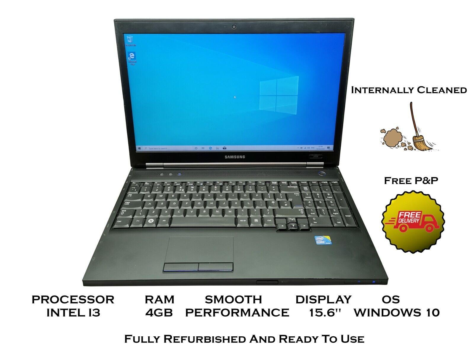 Laptop Windows - Samsung Laptop CHEAP and FAST - Intel i3 4GB RAM 500GB HDD Windows 10