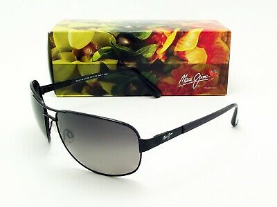 Maui Jim SAND ISLAND Matte Black / Neutral Grey Polarized GS253-2M - (Maui Jim Sand Island Sunglasses)