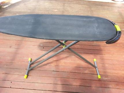 Hills ironing board slide out iron holder