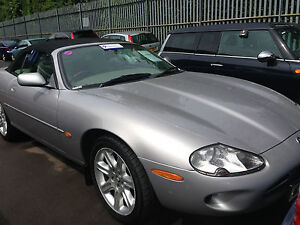 2000 JAGUAR XK8 CONVERTIBLE AUTO SENSATIONAL EXAMPLE, IVORY LEATHER FABULOUS