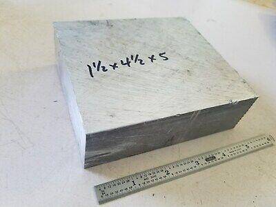 Aluminum Bar 1-12 X 4-12 X 5 Machine Stock