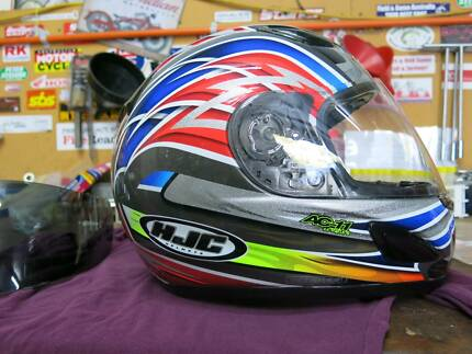 HJC Motorcycle Helmet Large AC-11