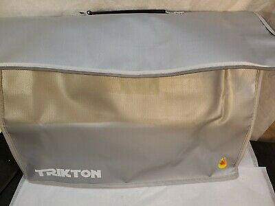Trikton Super Extra Large 18x13x5 Fireproof Safe Bag For Documents With Lock In