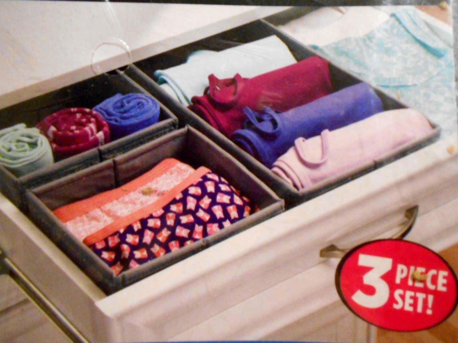 InterDesign Aldo Fabric Dresser drawer and Closet Storage Or