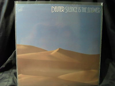 Deuter - Silence Is The Answer     2 LPs