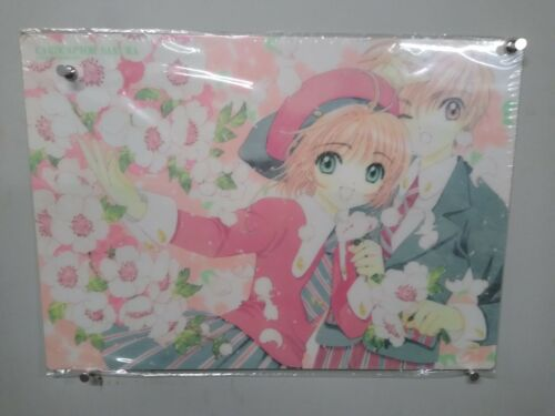 CARD CAPTOR SAKURA Plastic Transparent Poster #2 Licensed Japanese item