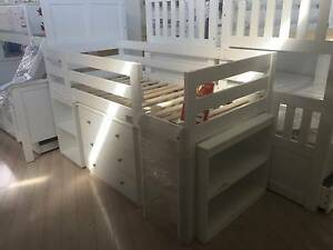 $1099 Classic Mid Sleeper Single Bed, ONLY $769 Auburn Auburn Area Preview
