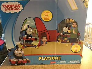 Thomas the train ball tent