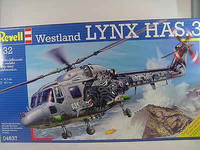 Westland Lynx HAS.3 Royal Navy Hubschrauber - Revell Bausatz 1:32 - 04837 #E