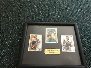 Penrith panthers craig Gower framed signed card Wentworth Falls Blue Mountains Preview