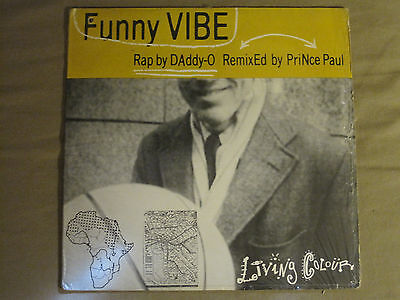 Living Colour Funny Vibe 12  Og 88 Epic Daddy O Prince Paul Remix Nm  In Shrink