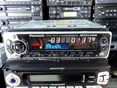 Panasonic CQ-DFX555LEN Radio CD Player FM AM Receiver, CD Changer control Aux in comprar usado  Enviando para Brazil