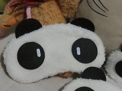 1 Stück Schlafmaske Augenmaske Panda Sweet Pandabär Maske ()
