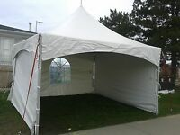 Tent Rental chairs tables