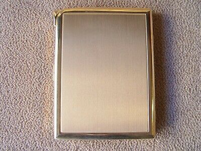 Vintage Benson Hedges Cigarette Case with built in Lighter Gold Tone