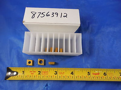7 Pcs Sandvik Ccmt3252 Mm2025 Turning Boring Carbide Inserts 38 X 38 X .16